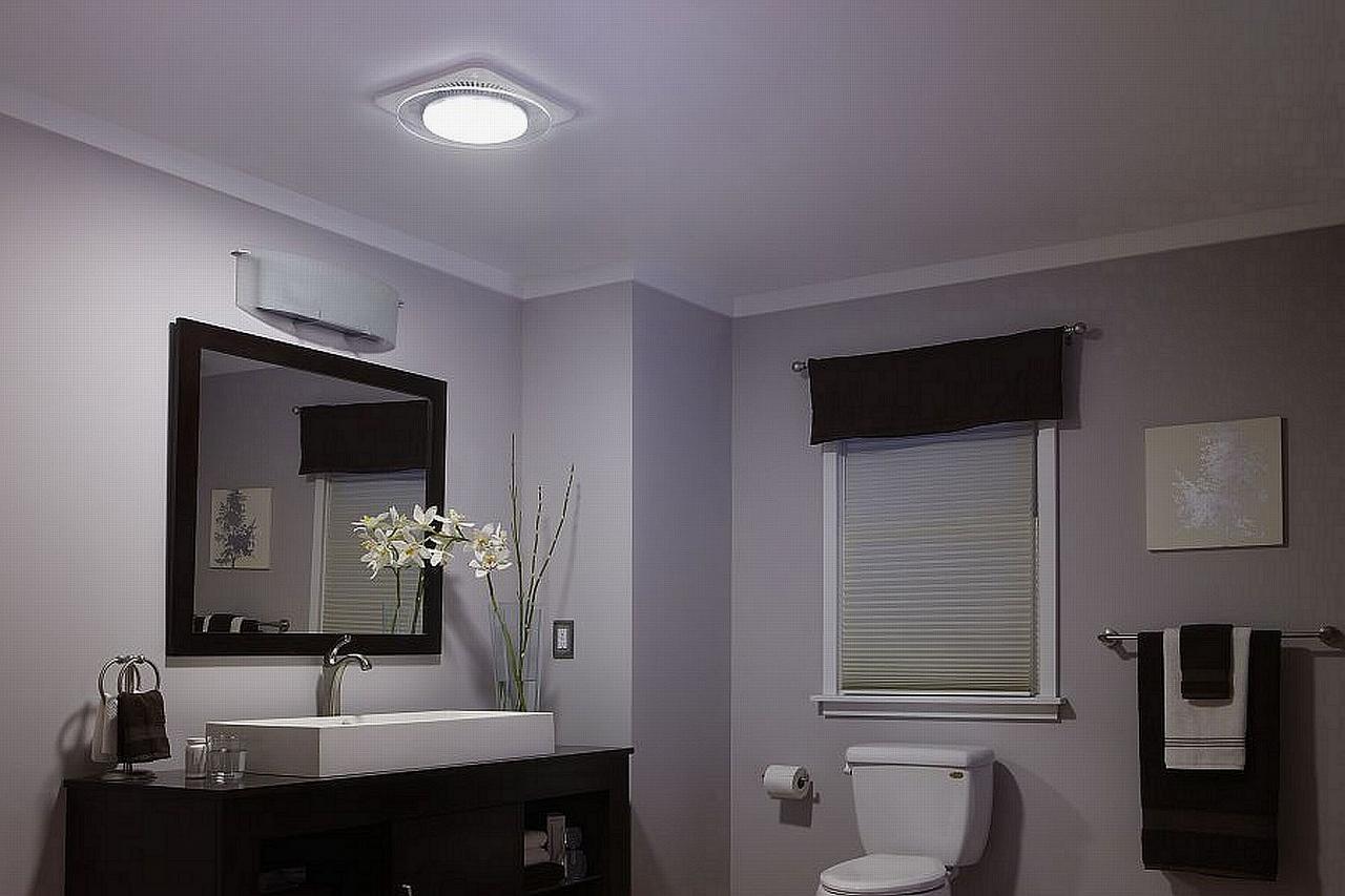 Bath Ventilation Fans Nutone Lunaura Offers First Ambient